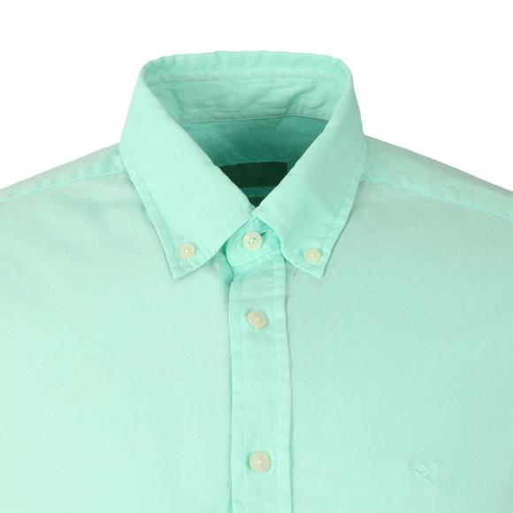 Hackett Mens Green L/S Slim Fit Shirt main image