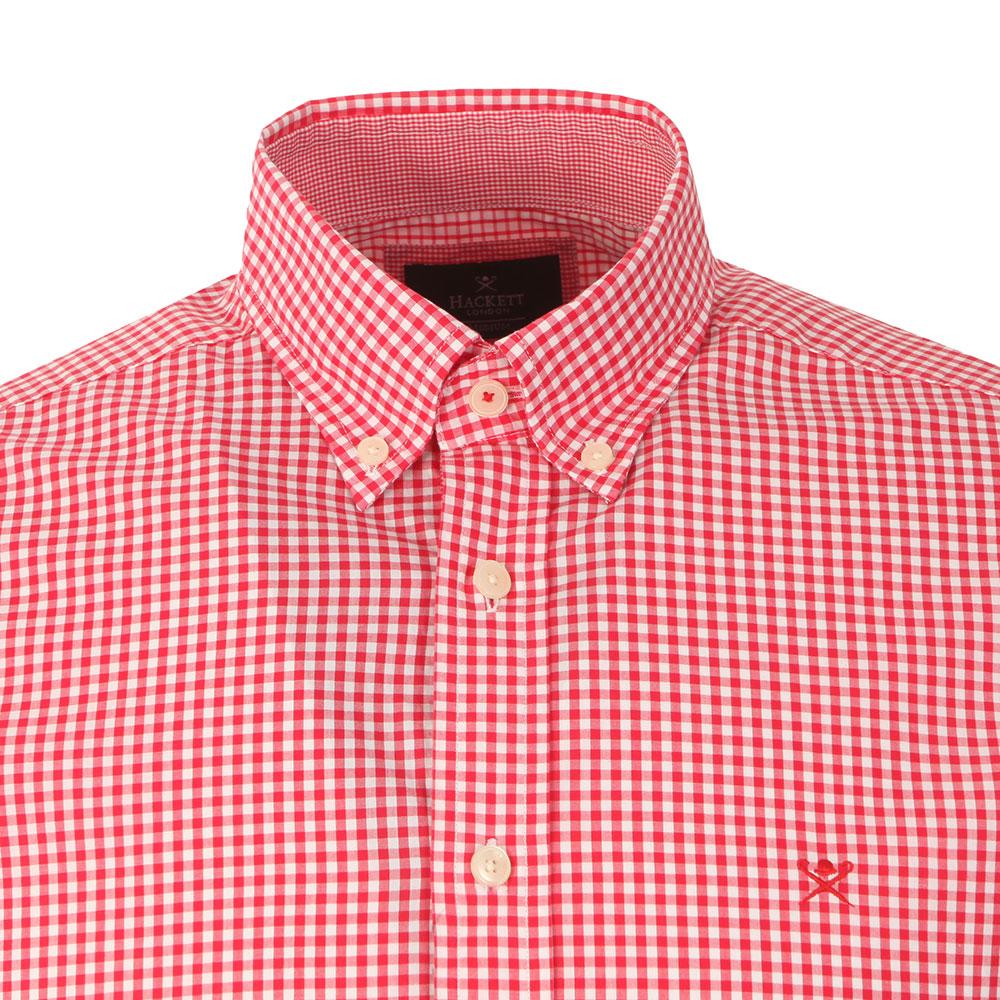 LS Gingham Tri Logo Shirt main image
