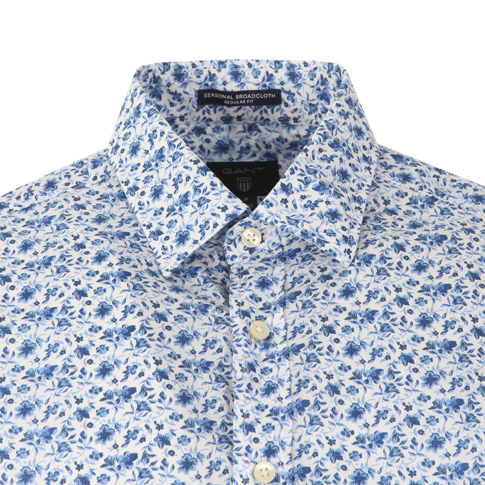 Printed Flower LS Shirt main image