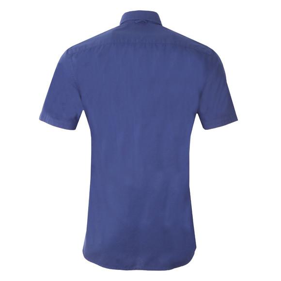 Hackett Mens Blue Dyed Oxford SS Shirt main image