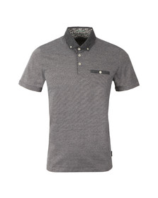 Ted Baker Mens Blue Zobelle Polo