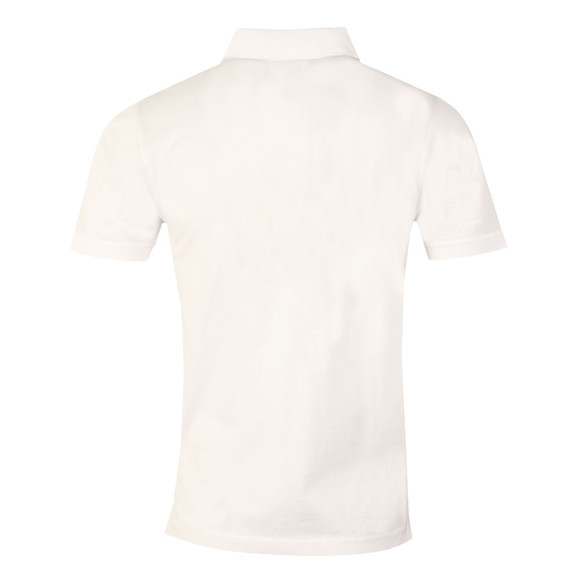Luke Mens White Stan Poole Polo Shirt main image