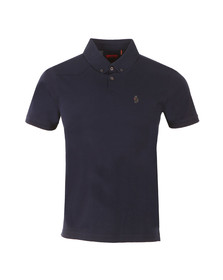 Luke Mens Blue Stan Poole Polo Shirt