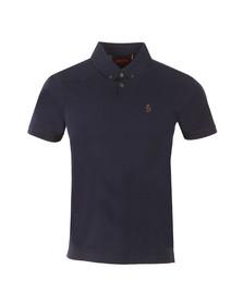 Luke Mens Blue Stan Poole Polo Shirt