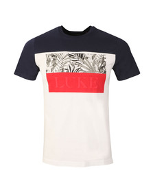 Luke Mens Blue Pop Block T-Shirt