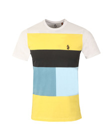 Luke Mens White S/S Close To The Wind Tee