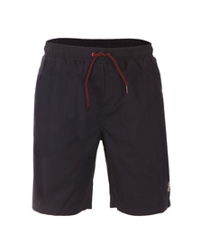 Luke Mens Blue Cagy Knee Length Swim Short