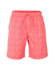 Luke 1977 Mens Red Cagy Knee Length Swim Short