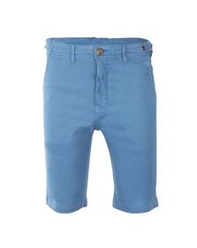 Luke Mens Blue Tennessee Tailored Chino Short