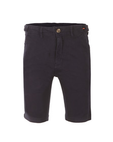 Luke Mens Blue Tennessee Tailored Chino Short