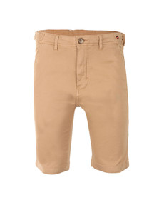 Luke Mens Brown Tennessee Tailored Chino Short
