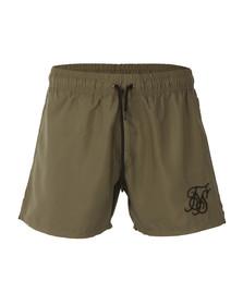 Sik Silk Mens Green Standard Swim Shorts