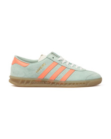 Adidas Originals Womens Green Hamburg Trainer