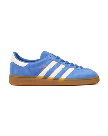 Adidas Originals Mens Blue Munchen Trainer