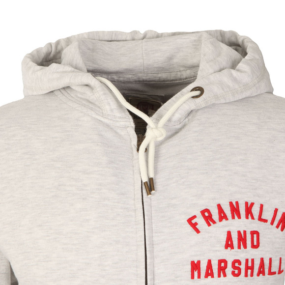 Franklin & Marshall Mens Grey Embroidered Logo Tracksuit main image