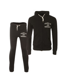 Franklin & Marshall Mens Black Embroidered Logo Tracksuit