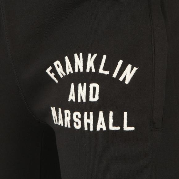 Franklin & Marshall Mens Black Embroidered Logo Tracksuit main image