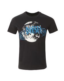 Diesel Mens Blue Diego NC T Shirt