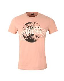 Diesel Mens Pink Diego NC T Shirt