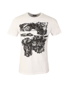 Diesel Mens White Joe NC T Shirt