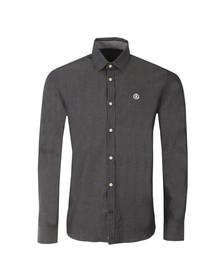 Henri Lloyd Mens Blue L/S Mallwyd Shirt