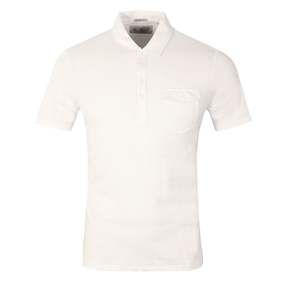 Original Penguin Mens White Jack 2.0 Polo Shirt main image