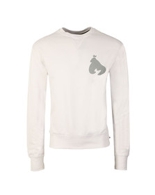 Money Mens White Sig Ape Crew Sweatshirt