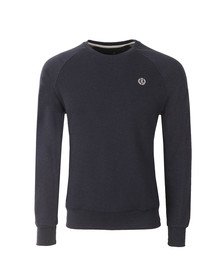 Henri Lloyd Mens Blue Mackney Crew Sweat
