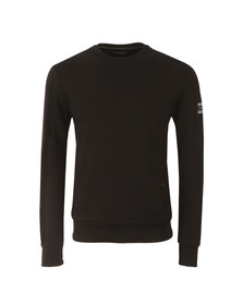 Henri Lloyd Mens Black Lyndon Crew Sweat
