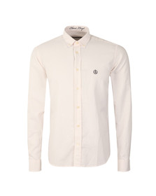 Henri Lloyd Mens Pink L/S Stripe Henri Club Shirt