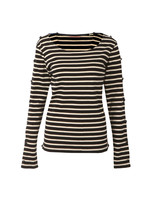 Long Sleeve Breton T Shirt