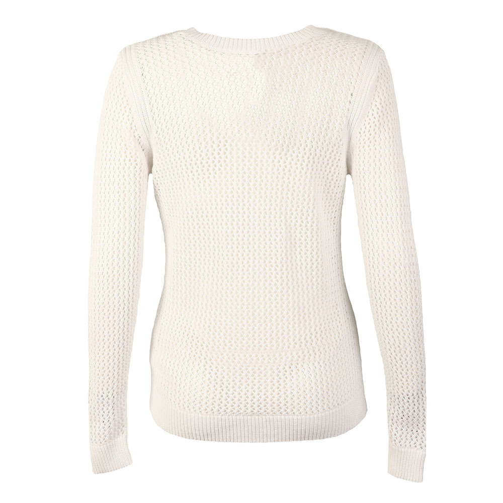 V Neck Mesh Sweater main image