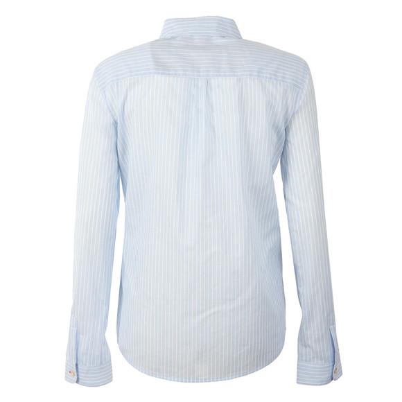 Maison Scotch Womens Blue Preppy Cotton Shirt main image