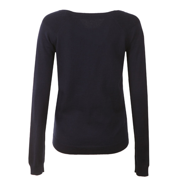 Maison Scotch Womens Blue Jumper With Button Closure main image