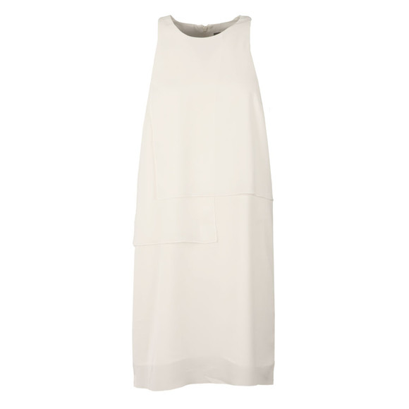 French Connection Womens White Cornell Solid Blok Dress main image