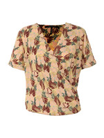 Short Wrapover Blouse
