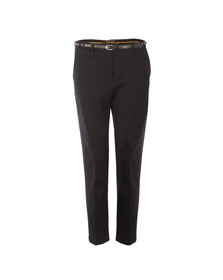 Maison Scotch Womens Blue Stretch Tailored Pant