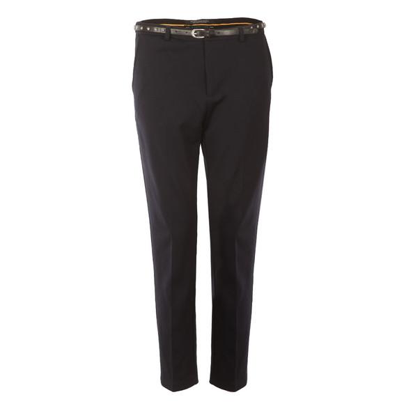 Maison Scotch Womens Blue Stretch Tailored Pant