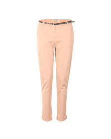 Maison Scotch Womens Pink Peached Twill Pant