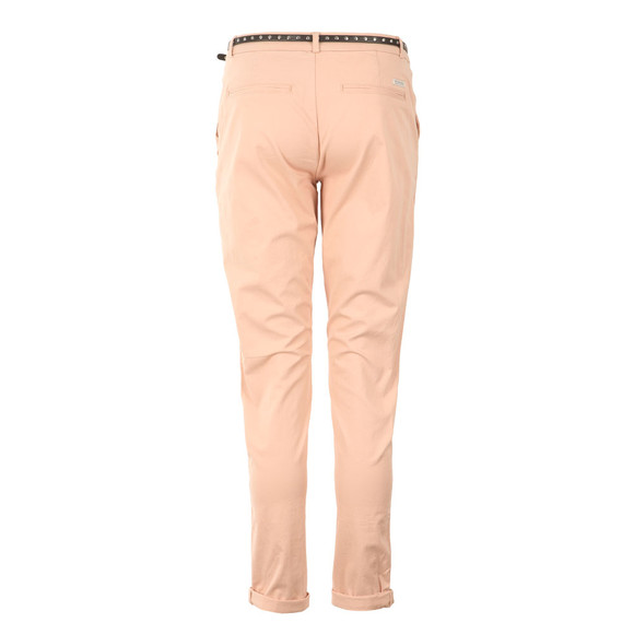 Maison Scotch Womens Pink Peached Twill Pant main image