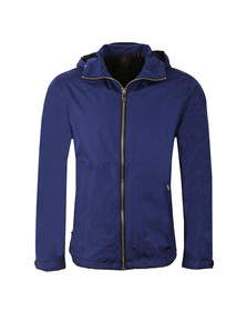 Luke Mens Blue Everyorder Hooded Technical Jacket