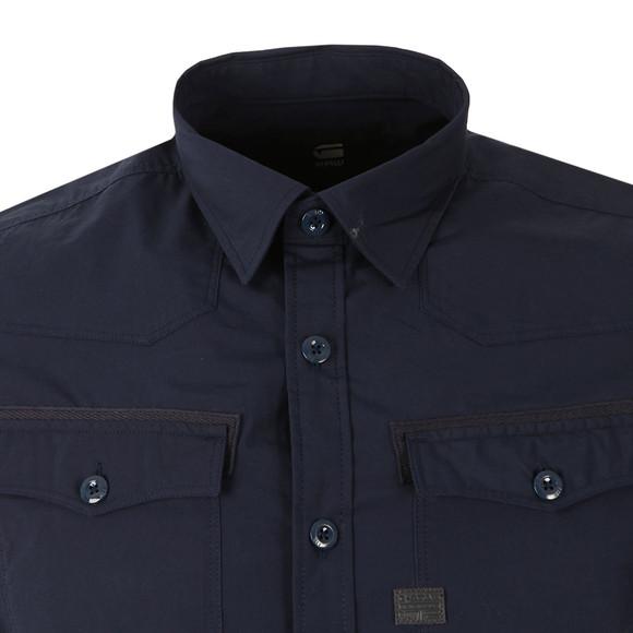G-Star Mens Blue 3301 SS Shirt main image