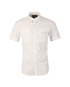 G-Star Mens White 3301 SS Shirt