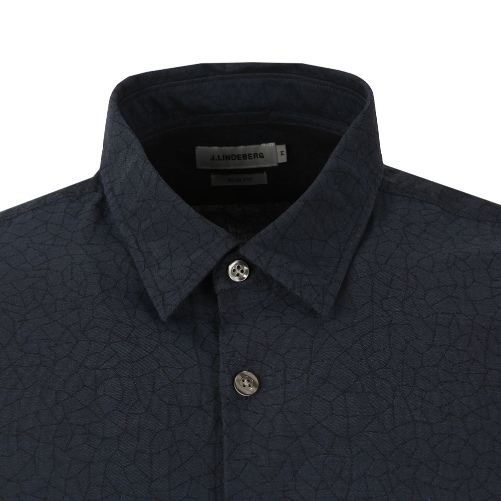 Daniel Cracked Jacquard Shirt main image
