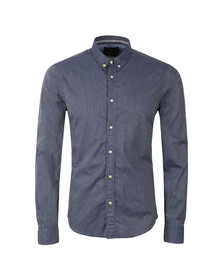 Scotch & Soda Mens Blue Classic Longsleeve Shirt