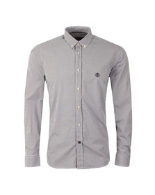 Henri Lloyd Mens Blue L/S Deben Shirt