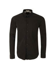 Scotch & Soda Mens Black Classic Longsleeve Shirt