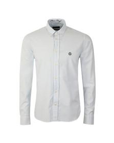 Henri Lloyd Mens Blue L/S Stripe Howard Club Shirt