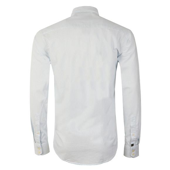 Henri Lloyd Mens Blue L/S Stripe Howard Club Shirt main image
