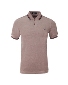 Fred Perry Mens Ox/blue Twin Tipped Polo Shirt